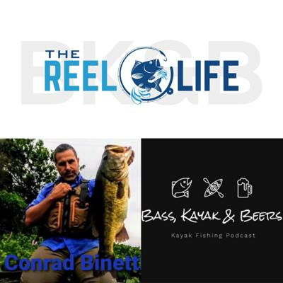 Cover art for The Reel Life with special guest Conrad Binetti