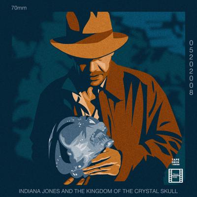 Cover art for Indiana Jones and the Kingdom of the Crystal Skull (2008)