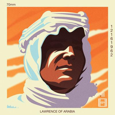 Cover art for Lawrence of Arabia (1962)