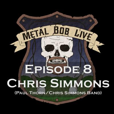Cover art for Episode 8 - Chris Simmons of Paul Thorn/Chris Simmons Band
