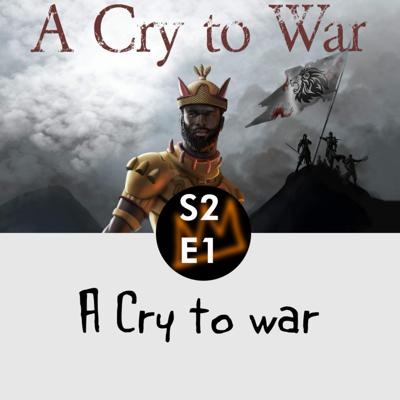 Cover art for A cry to war