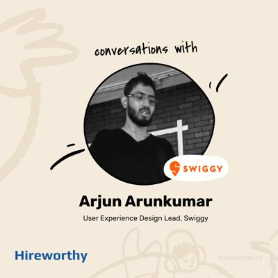 Cover art for 09 | Grit of UX Careers with Arjun Arunkumar