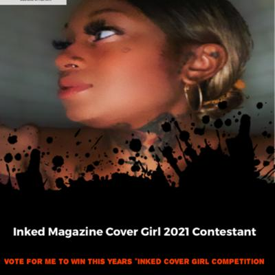 Cover art for Inked Magazine Cover Girl Search 2021