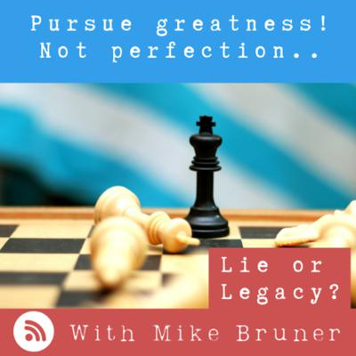 Cover art for Pursue Greatness, Not Perfection