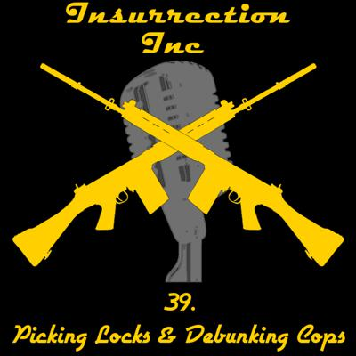 Cover art for 39. Picking Locks and Debunking Cops with Pat Watson of Uncensored Tactical