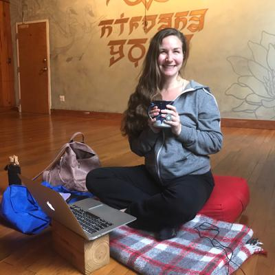 Cover art for Hometown Yoga: Sibley Fleming with Stephanie Germann Episode 1: Yoga Safety