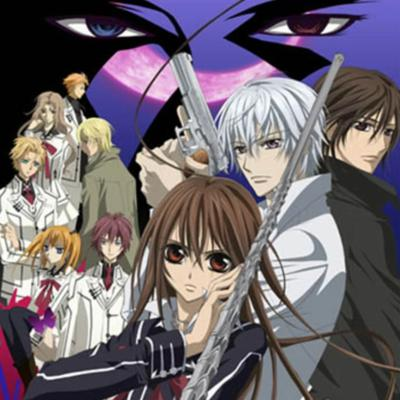 Cover art for Vampire Knight anime review Delusional Otaku