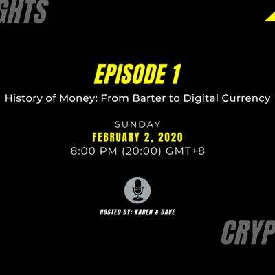 Cover art for History of Money: Barter to Digital Currency. Episode 1 (Tagalog)