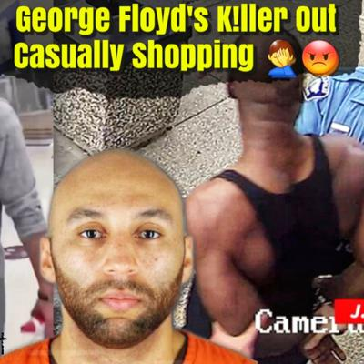 Cover art for One of George Floyd's KILLER's Caught Out Here Arrogantly Shopping