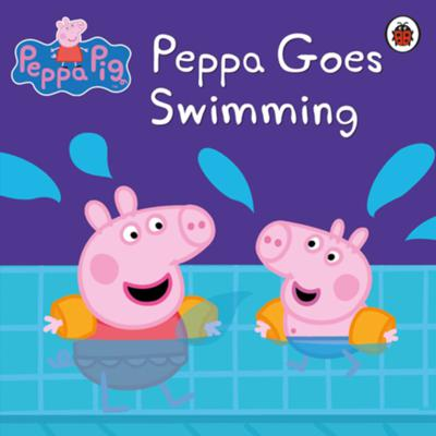 Cover art for Peppa goes swimming