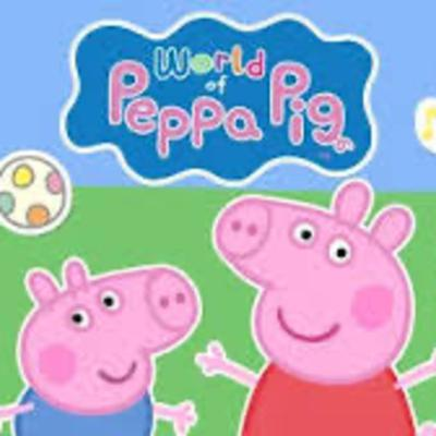 Cover art for Peppa Pig All work and No play