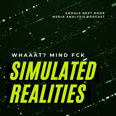 Cover art for Simulated Reality