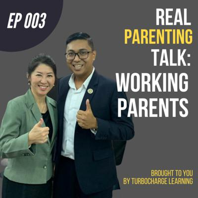 Cover art for #003: Tips for Working Parents to Raise Children (Debunk Parenting Myths) | LiiChu on Real Parenting Talk