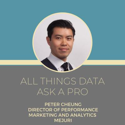 Cover art for Ask a pro - Peter Cheung - Director of Performance Marketing and Analytics - Mejuri