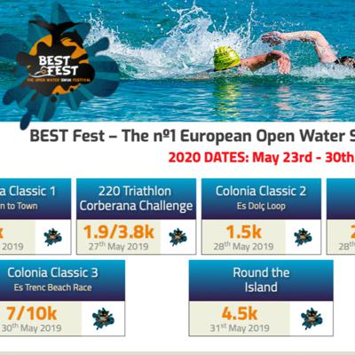 Cover art for Episode 18 - The Mallorca Mashup at the BESTFest of Open Water Swimming