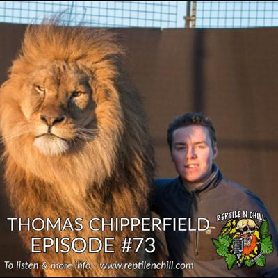 Cover art for Thomas Chipperfield, working with Big Cats - 73 Reptile n Chill