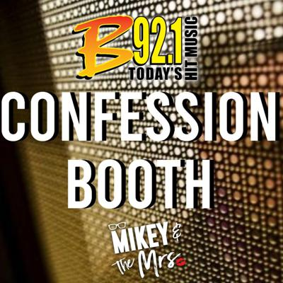 Cover art for B92.1 Confession Booth