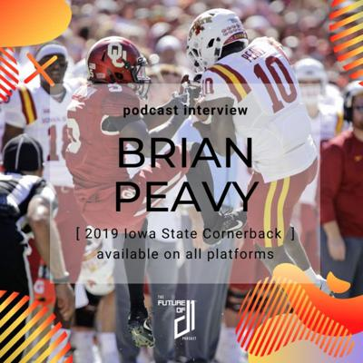 Cover art for Episode 7: Iowa State Cornerback Brian Peavy