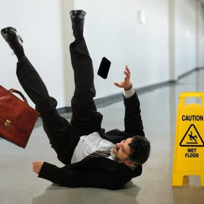 Cover art for Are Slip and Fall Cases Worth Taking?