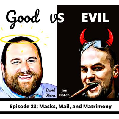 Cover art for S1E23: Masks, Mail, and Matrimony