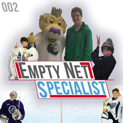 Cover art for ENS Podcast 002: Ty Taylor, UNH & TBL Goalie - Team of the Decade, GOAT Goal, & Playoffs