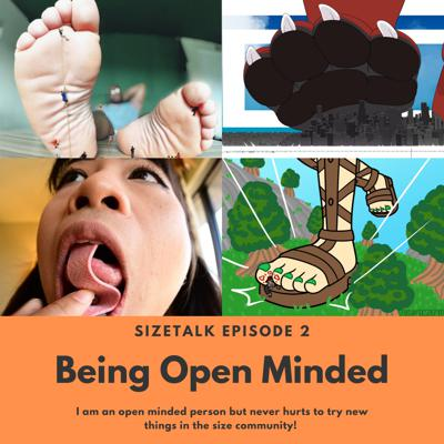 Cover art for Being Open Minded!