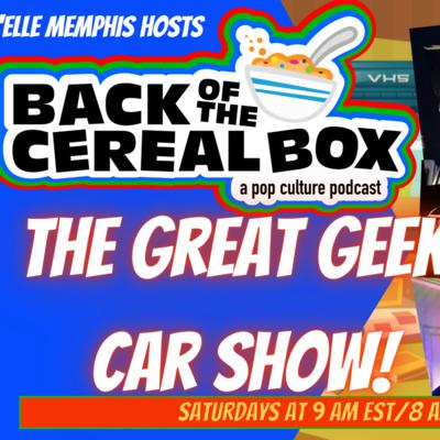 Cover art for The Great Geek Car Show