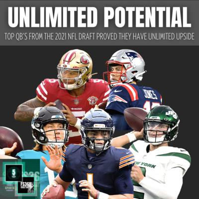 Cover art for 2021 NFL Rookie QB Preseason Final Review, Our NFL Training Camp Standouts, and More