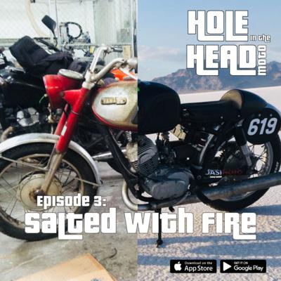 Cover art for Episode 03: Salted with Fire (1967 Yamaha YDS5)