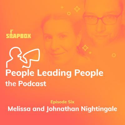 Cover art for #6: Melissa and Johnathan Nightingale of Raw Signal Group on being better bosses