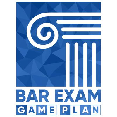 The Bar Exam Game Plan℠ Podcast provides excellent tools, strategies, and resources for the Essays, MBEs, and Performance Test, and it also incorporates holistic wellness strategies to help you manage stress, develop an empowered passing mindset, and maintain motivation!