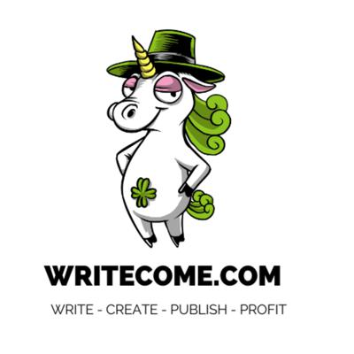 Here at WriteCome we believe that anyone can create content they can make money from. And each episode we'll be taking a look at what you can do to write, create, publish, and profit from your content.