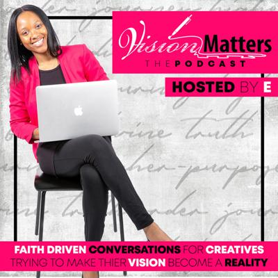 The Vision Matters Podcast features conversations for Black creators in media, tech or entertainment trying to figure out how to get to the next level in their careers. This podcast is for you if you need inspiration and strategies to help you become successful in your creative career. The podcast is hosted by creative entrepreneur, Erikka Rainey.