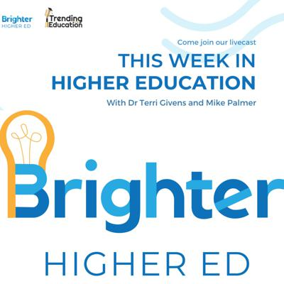Each week, Dr. Terri Givens and Mike Palmer break down the latest news and relevant issues for Higher Ed.