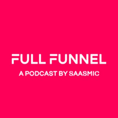 Full Funnel Marketing is a podcast dedicated to helping B2B marketers and founders become masters of their craft!  We're interviewing executives and thought leaders, discussing topics on how to grow your B2B SaaS company!