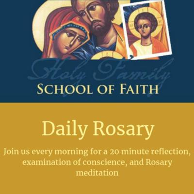 Want to start praying, but don't know how? Join us every morning for Scripture, meditation, and a Rosary - all under 25 minutes! It's perfect for your daily commute or morning coffee listening.