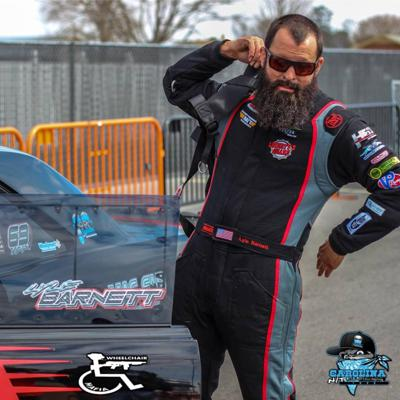 Cover art for Lyle Barnett Drag Radial racing and safety Build Tune Race 9