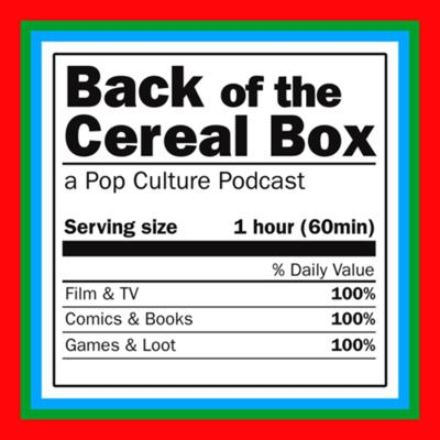Back of the Cereal Box