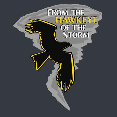 From the Hawkeye of the Storm