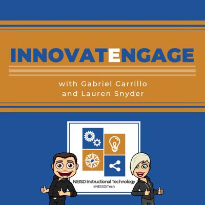 InnovatEngage is a podcast for teachers who are looking for practical and exciting ways to meaningfully engage their students. Tune in to hear interviews with classroom teachers just like you who are collaborating with their instructional technology specialists to design innovative lessons that engage students like never before!