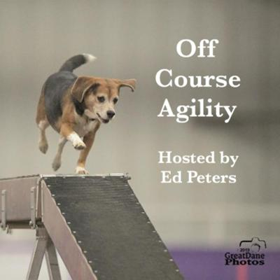 A podcast about dog agility focused on the NADAC venue and running with less common agility dogs like beagles. Your host Ed Peters started handling in NADAC with his beagle Dino in 2005. Now he is starting to compete at the Intro level with his new beagle, Tres. His sister also competes in NADAC with her beagle Belle who is now at the Elite level in most classes except for the pesky Chances class.  A new episode is released every other week.  Give us a listen and you can send us feedback at offcourse@optimum.net  Please subscribe or follow us where you get your podcasts.