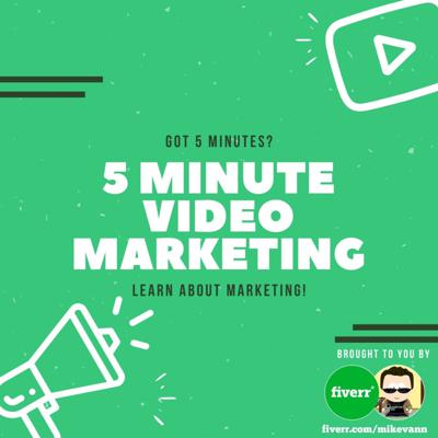 Do you have 5 minutes? Then listen and learn how to get affordable videos made for your brand, product or business. This will help anyone boost and grow their marketing efforts to drive more traffic and sales!