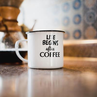 Life with a cup of coffee