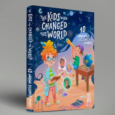 Introducing the The Kids Who Changed the World - a podcast (and not only!) series that will inspire children with the stories about ordinary kids who grew up to shape the world!