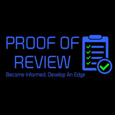 The Proof of Review Podcast aims to increase transparency amongst projects and investors by improving the quality of the information in the crypto ecosystem. We review a range of projects and services to help you become informed and develop an edge in this emerging industry and asset class.
