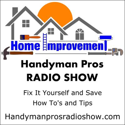 Two professional handymen discuss how you can save time, money, and aggravation on home repair, maintenance, and improvements. Our content addresses common problems and challenges of property ownership. Topics include strategies and techniques for home management, do it yourself (DIY) tips and tricks, home technology, maintenance, real estate investing, and more! We value listener feedback, and welcome the opportunity to answer your questions (questions@handymanprosradioshow.com) or join our Facebook group at Handyman Pros. More information is available at handymanprosradioshow.com.