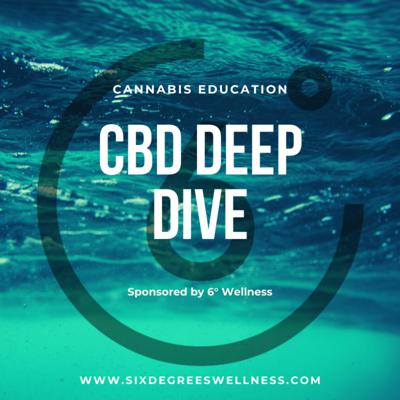 Join Dr. Jonny Lisano and Dr. Helena Yardley, experts in the science of CBD and cannabis, as they discuss scientific research, physiology and common misconceptions of CBD. The CBD Deep Dive is sponsored by 6° Wellness, a hemp-derived CBD company focused on providing the highest quality CBD products backed by science.   Disclaimer: The information provided in this podcast is purely for educational purposes, this information nor any of the products provided by 6° Wellness are not intended to diagnose, treat or cure any diseases. Always consult with a physician prior to taking any new supplements