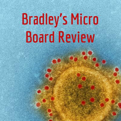 On Bradley's Micro Board Review will cover one or two medical board relevant microorganisms each day. We will have board-style practice questions for those organisms and answer explanations. Join us for some quick micro fun! Support this podcast: https://anchor.fm/bradleysmicroboardreview/support