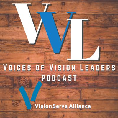 Tune in to Lee Nasehi & staff of VisionServe Alliance as they speaks with leaders in the field of blindness and visual impairment on a range of topics affecting the field such as networking and collaboration, public policy, accessibility technology, leadership development, and much more. We are joined by executives from around the country to hear what they are doing to improve the lives of people living with blindness and low vision.   Operated and supported by VisionServe Alliance