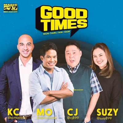 is a morning radio show on Magic 89.9 and previously on the Killerbee network around the Philippines, hosted by Mo Twister, KC Montero, Tin